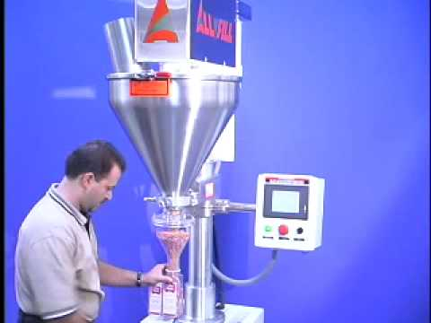 All-Fill Model B-600 Semi-Auto Auger Filler All-Fill Auger Filling Systems - Model B600 - Semi-Automatic