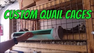 How I built my quail cages