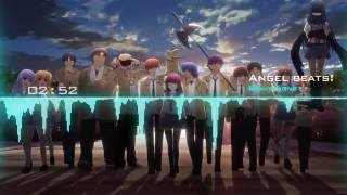 """Video thumbnail of """"» Angel Beats! Ending 「Brave Song」"""""""