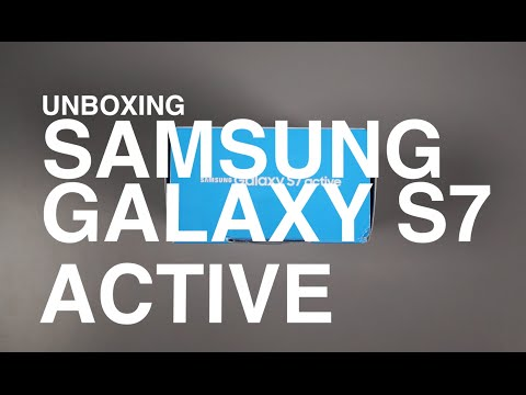 Samsung Galaxy S7 Active Unboxing and Tour!