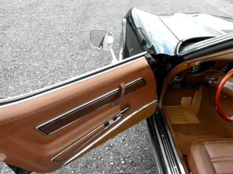 1973 Elkhart Green Stingray Corvette Convertible Video