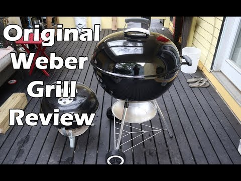 Weber Original Kettle 22 inch Charcoal BBQ Grill Review