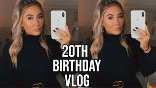MY 20TH BIRTHDAY VLOG || Cartier Ring Unboxing, Bff Came To Visit, Shopping, & More!