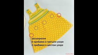 Crochet Patterns| For |crochet Baby Dress| 2868