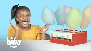 Kids Try Crazy Cotton Candy Flavors | Kids Try | HiHo Kids