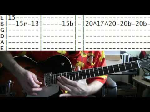 guitar lessons online Ted nugent cat scratch fever tab