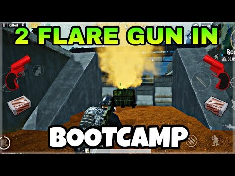 2 Flare Guns In Bootcamp Best Location To Find Flare Gun In Sanhok
