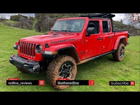 2020 Jeep Gladiator Rubicon – The Wrangler of Pickup Trucks