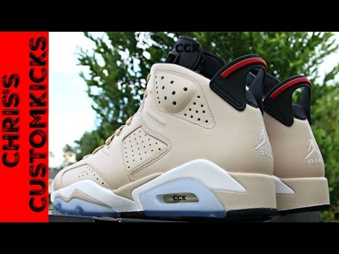Jordan 6 Don C Custom FULL TUTORIAL