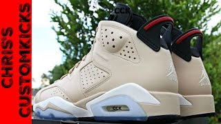 Jordan 6 Don C Custom FULL TUTORIAL