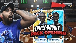 I PULLED TWO LEGENDS & PLAYED TWO STEPH CURRY'S ONLINE! NBA Playgrounds Pack Opening Gameplay Ep. 8