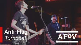 "Anti-Flag - ""Turncoat"" A Fistful of Vinyl sessions"