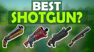 WHICH SHOTGUN SHOULD YOU USE?   HIGH KILL FUNNY GAME - (Fortnite Battle Royale)