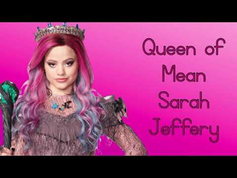 Queen of Mean Lyrics ~ Sarah Jeffery