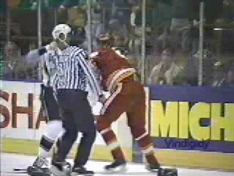 Marty McSorley vs. Joel Otto