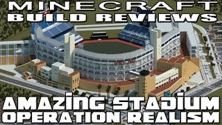 Minecraft BEST BASEBALL STADIUM YET (Operation Realism Reviews)