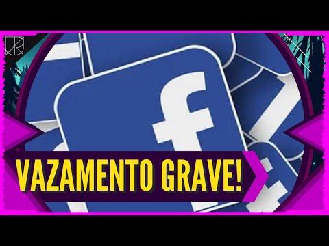 VAZAMENTO GRAVE no Facebook! 500 MILHES de DADOS VAZADOS... Incluindo nmero de telefone!!