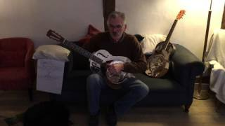 Playing left handed on a right hand strung guitar