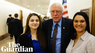 'You have the power to change America': Parkland students interview Bernie Sanders