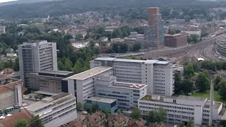 preview picture of video 'Kantonsspital Winterthur – Flugaufnahmen'