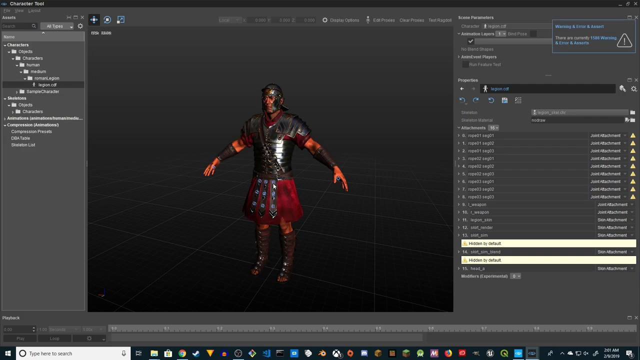 CryEngine 5 - Change Default Character (CryEngine 5.5)
