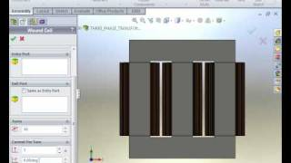 AC Magnetic Analysis of a Transformer 1/2