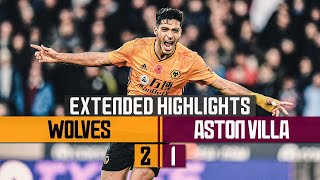 Brilliant Neves & Jimenez goals hand Wolves victory! | Wolves 2-1 Aston Villa | Extended Highlights