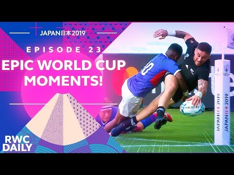 EPIC RUGBY WORLD CUP MOMENTS! | RWC Daily | Ep23