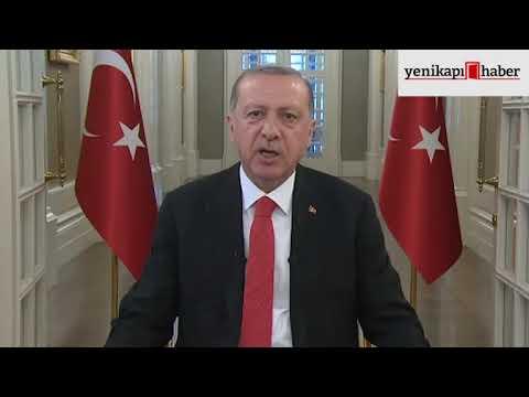 Cumhurbaşkanı Erdoğan'dan bayram mesajı (видео)