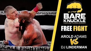 BKFC 1 FULL FIGHT: Arnold Adams vs DJ Linderman