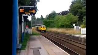 preview picture of video 'Hawarden 13.8.2013 - Network Rail Class 31 31223 nr Chester Deeside'