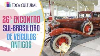 26º Encontro Su-Brasileiro de Veículos Antigos vai até domingo, no Expotrade em Pinhais