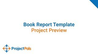 Project Preview: Book Report Template