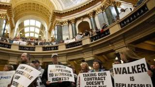 WI Protests - Fight For the Middle Class thumbnail
