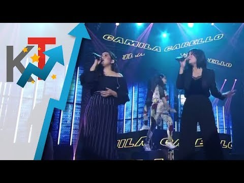 Moira and Kyla give a twist to Camila Cabello's Never Be The Same!