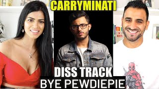 BYE PEWDIEPIE REACTION!!! | CarryMinati