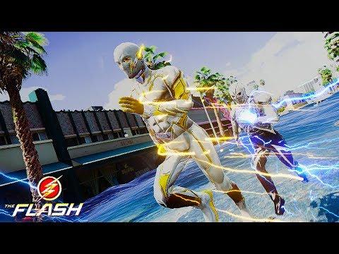 GodSpeed VS The Taquion ! Tsunami Battle ! (GTA 5 Ultimate Flash Mod)