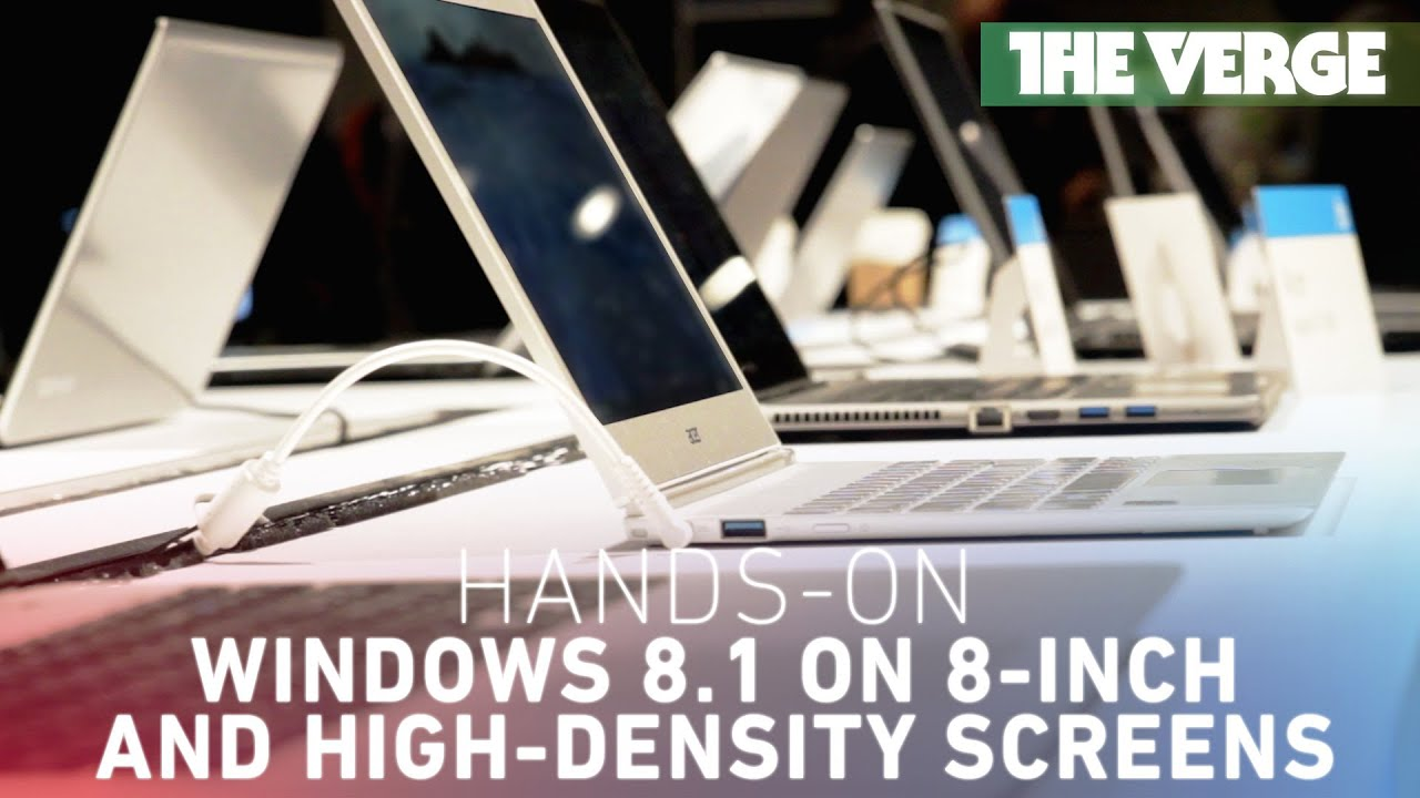 Windows 8.1 on 8-inch and high-density screens thumbnail