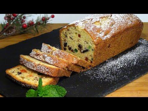 Receta de Plum Cake tipo inglés - Recetas de cocina, paso a paso, tutorial. Loli Domínguez