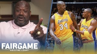 Shaq vs. Kobe: Did the Lakers Have a Secret Code to Shut Down Bryant and Limit Touches? | FAIR GAME