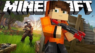 FORTNITE В МАЙНКРАФТЕ [MINECRAFT BATTLE ZONE]