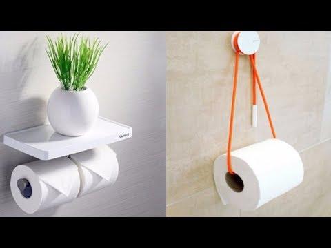 10+ Unique toilet paper holders Create ideas 2017