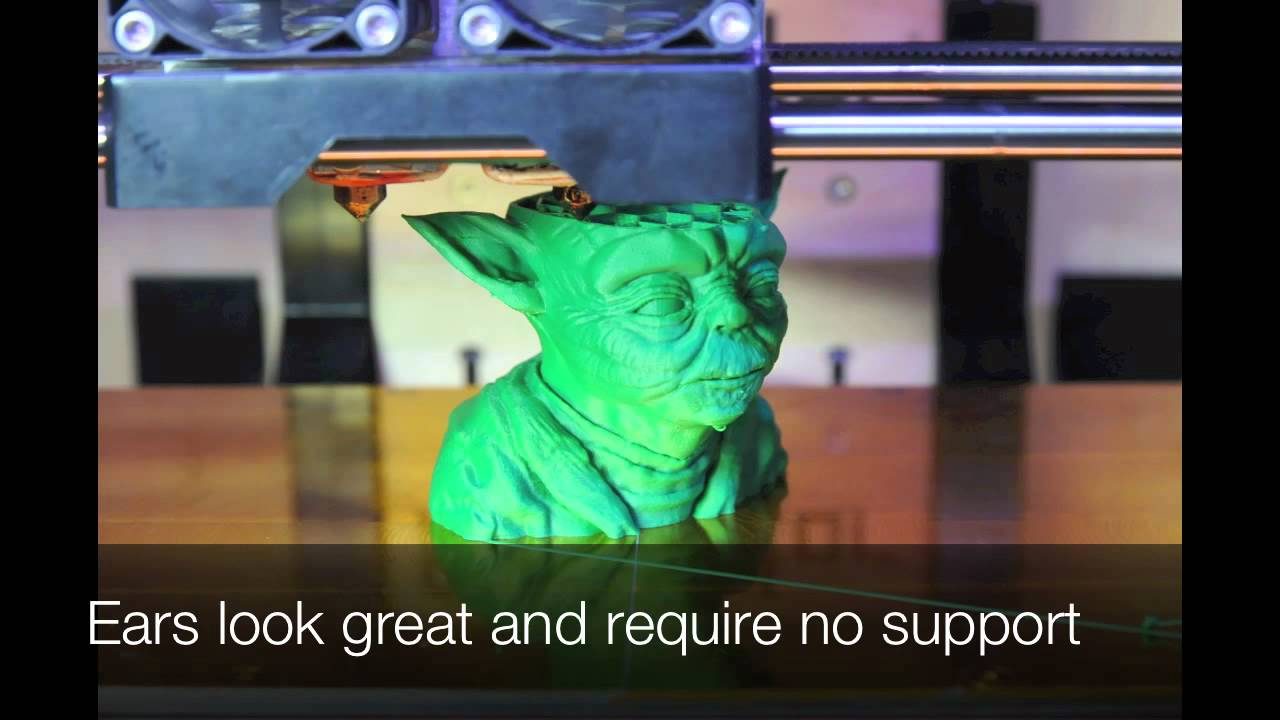 Time Lapse Video Of An Incredibly Detailed 3D-Printed Yoda