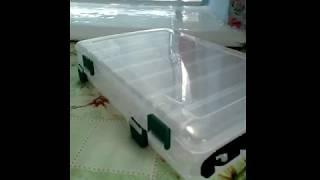 Коробка для воблеров с алиэкспресс