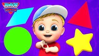Shapes Song   Nursery Rhymes and Kids Songs   Learn Shapes   Preschool Songs