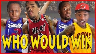 WHO WOULD WIN? YOUNG MCGRADY & LEBRON OR OLD MCGRADY & LEBRON?!! - NBA 2K17  Blacktop
