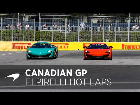 McLaren fan takes on 600LT | F1 Pirelli Hot Laps | #CanadianGP