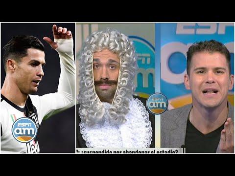 Cristiano Ronaldo: Dipp quiere multa económica y suspensión por su falta de respeto | ESPN AM