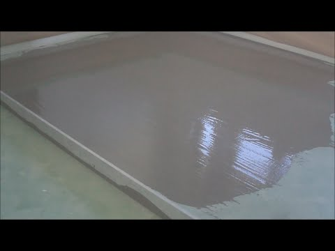 How-to Leveling a Concrete Floor and Making It Smooth Like a Mirror Mryoucandoityourself