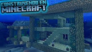 Como Hacer Una Casa Bajo El Agua Para Survival En Minecraft OmarZcraft